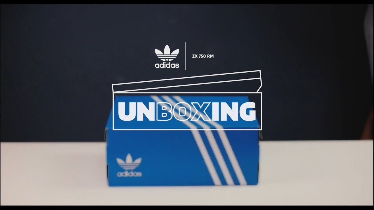 huge selection of 218fd 8c50e adidas ZX 500 RM ALPHATYPE PACK | Unboxing KICKS