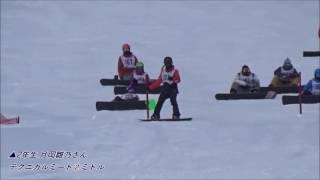 8th CSBA on SNOWFESTAテクニカルミート 優勝 月岡雛乃 スノーボード・スキーの学校JWSC動画:1366