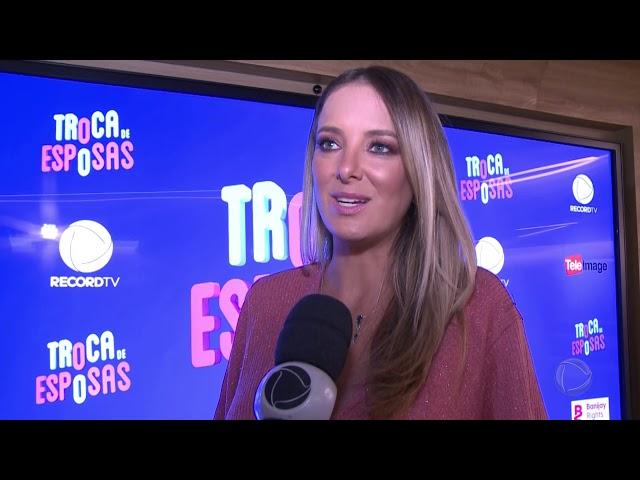 Ticiane Pinheiro conta como Troca de Esposas mexeu com ela