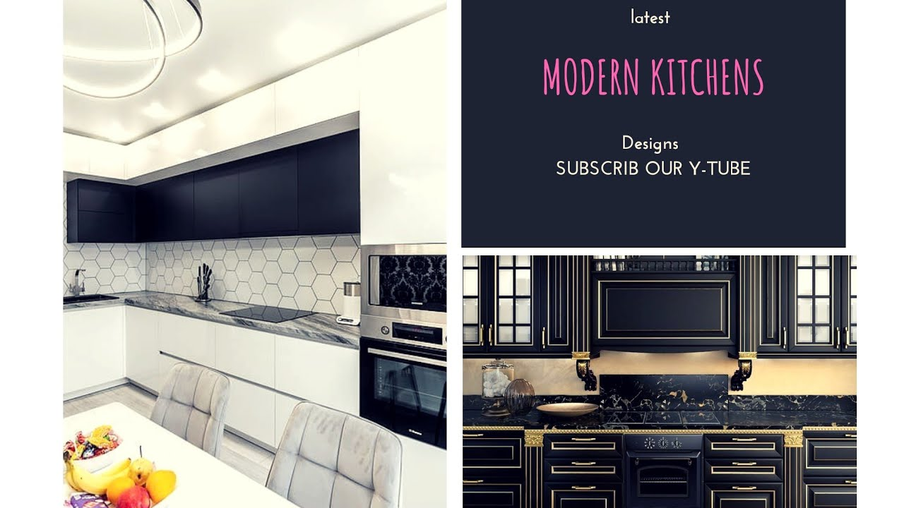 Top 20 Latest Modern Kitchen Design 2020 New Design Ideas Youtube