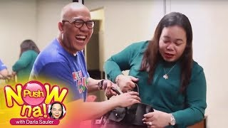 Push Now Na: Boy Abunda's bag raid part 1