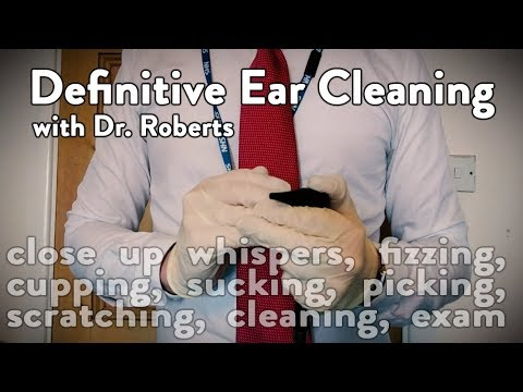 Ear Cleaning ASMR (Definitive Ear Cleaning ASMR Doctor)