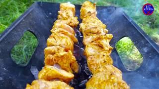 BBQ in Beautiful Valley  Eid Celebrations  Chicken BBQ best Recipe