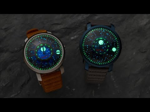 A Glowing Solar System On Your Wrist - The Xeric Trappist-1 NASA Edition
