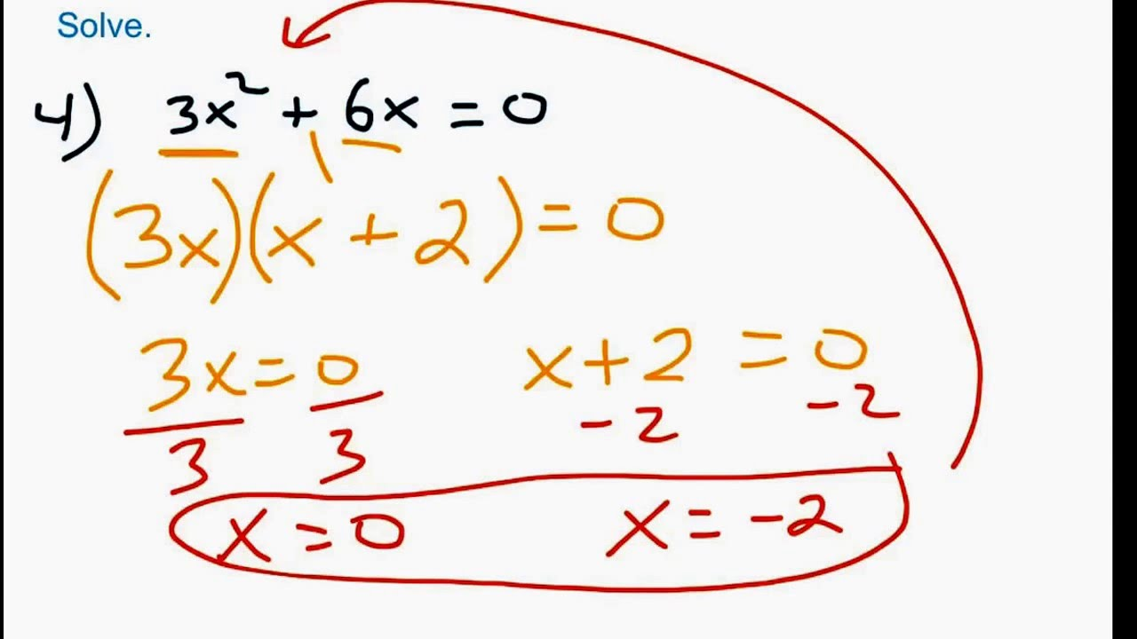 worksheet Basic Polynomial Operations solving basic polynomial equations youtube equations