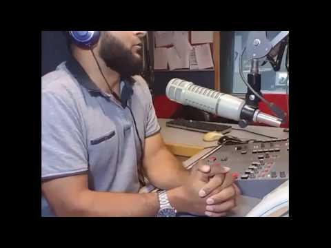 Atif Masood live show on radio xl Birmingham  29/07/16