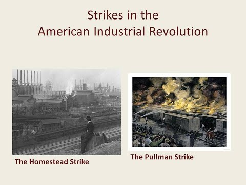 Gilded Age America Video Assignment: Homestead & Pullman Strikes