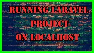 how to run laravel github project on localhost. Full Step By Step 2018 on windows 10
