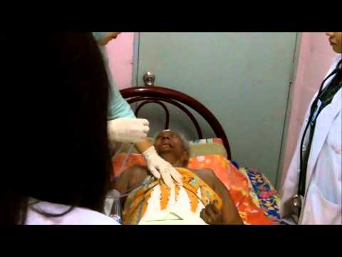 Nasogastric Tube Insertion to a Stroke Patient