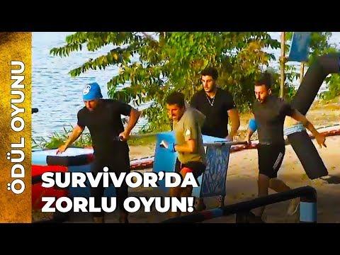TAKIMLAR ÖDÜLÜ DUYUNCA ÇILDIRDILAR! Ödül Oyunu 1. Kısım   Survivor Ünlüler Gönül
