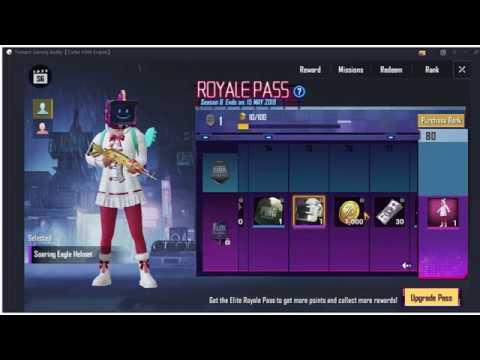 Pubg Playerunknowns Battlegrounds Season 6 Items Rp 1 100