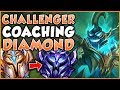 CHALLENGER JUNGLER SHOWS A DIAMOND JUNGLER WHAT HE'S MISSING AS A PLAYER - League Of Legends