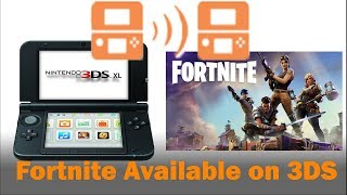 How to get Fortnite on the Nintendo 3DS