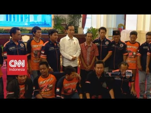 Presiden Jokowi Kedatangan Sopir Truk 'Curhat' Soal Pungli