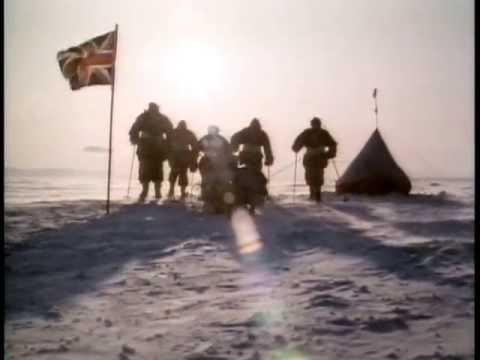 Captain Scott reaches The South Pole, 1912