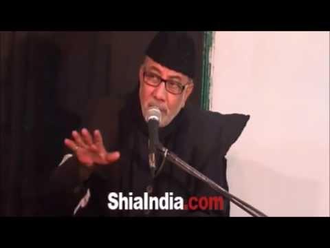 Maulana Hyder Zaidi Addressing Majlis at Qaiser Manzil 1436 Hijri