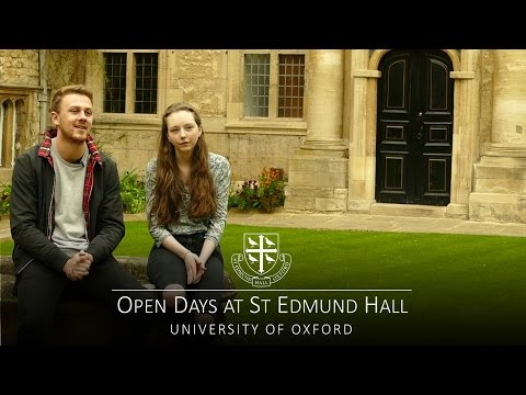 Open Days at St Edmund Hall, University of Oxford