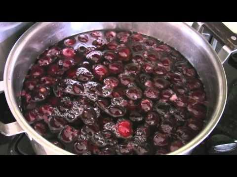 Canning Fresh Sweet Cherries