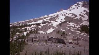 THE SHINING - filming location Timberline Lodge.