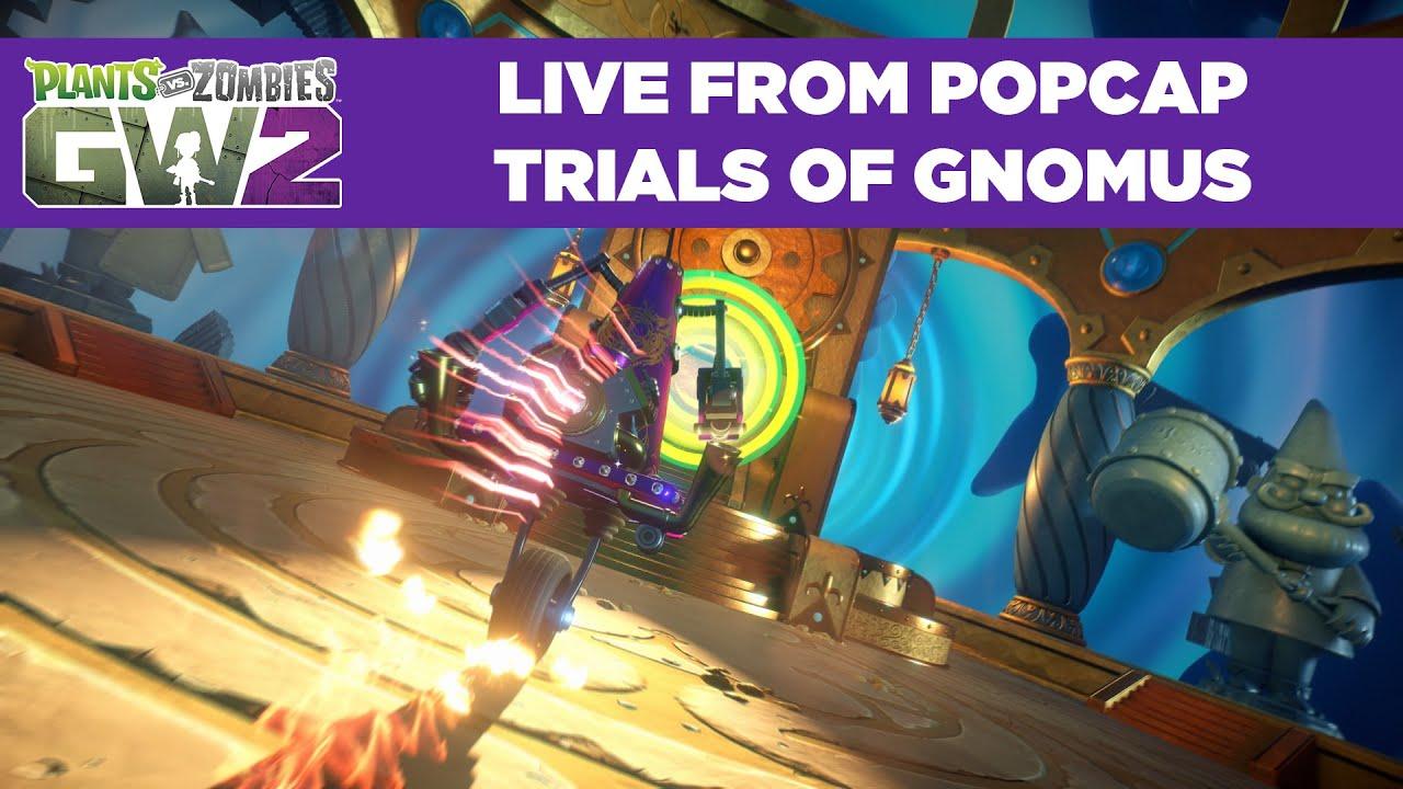 Trials Of Gnomus Live Stream Plants Vs Zombies Garden Warfare 2