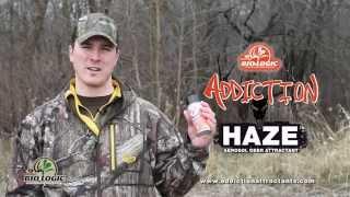 Addiction Haze Deer Urine Spray How To Video From Mossy Oak Biologic