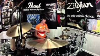 Halestorm - I Miss The Misery - Drum Cover