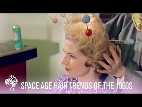 Space Age Hair Fashions