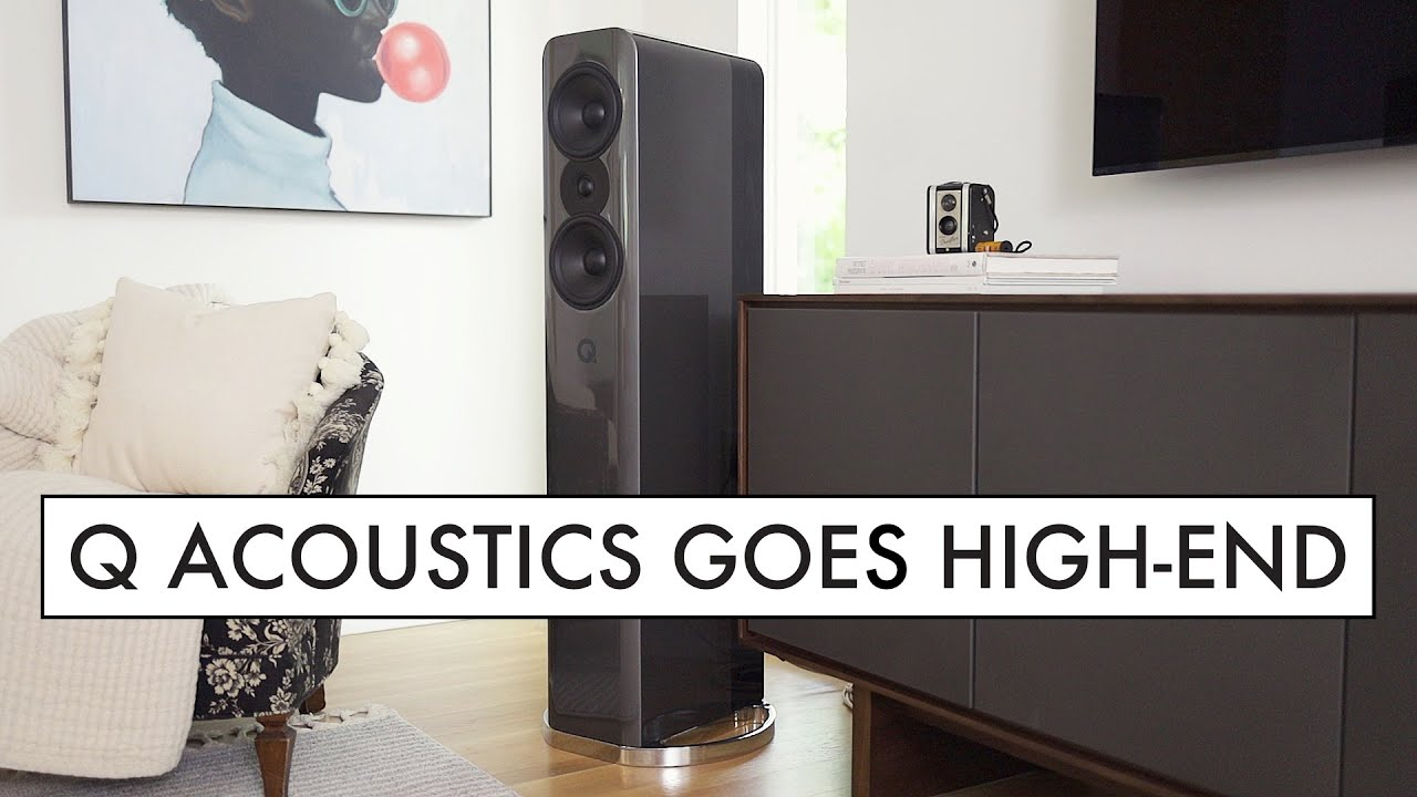 A High End Speaker by Q Acoustics - The Concept 500 Tower Speakers Review