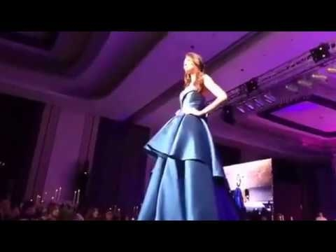 Miss Universe 2016 -2017   Gala Auction Night  Evening Dress //Filipino designer  FULL -- 2017