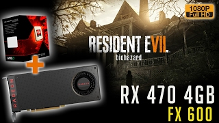 Resident Evil 7 - FX 6300 + RX 470 | Full HD | PC do cliente