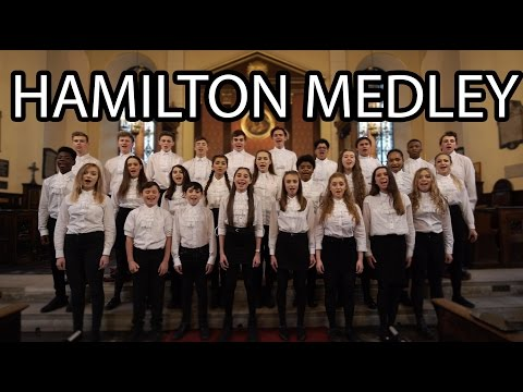 HAMILTON Medley (LIVE) - performed by UK-Based Teens!