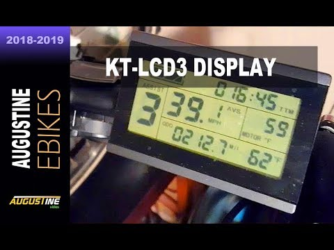 How To Program The KT-LCD3 Electric Bike Computer. 20 E-bike Functions