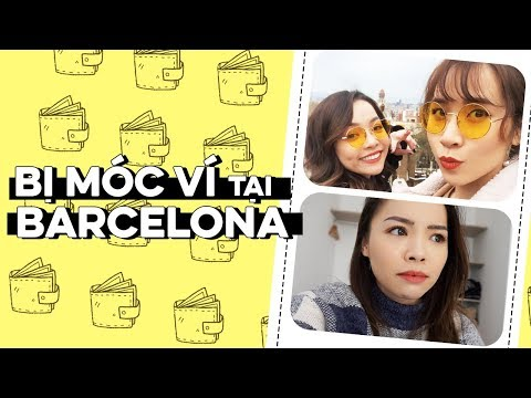 Trinh Bị Móc Ví Ở Barcelona ♡ Barcelona Vlog With Truc's Hobbies ♡ TrinhPham