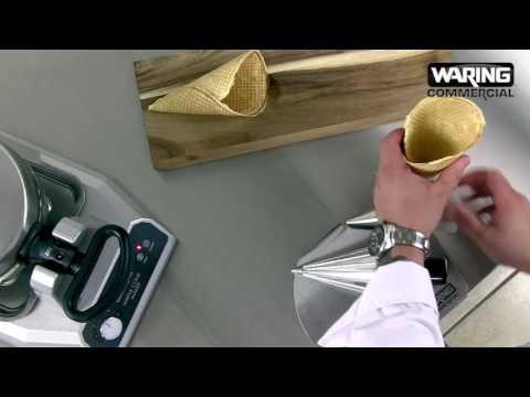 Waring - Waffle Cone Maker Demonstration