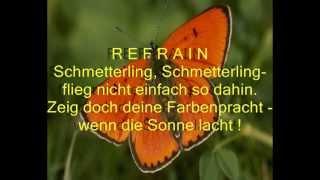 """""""SCHMETTERLING"""" - Kreativ-SONG mit Gedicht"""