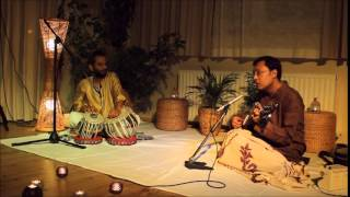Om Prakash Pandey and Sugato Bhaduri performing Indian classical music
