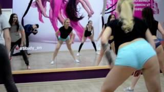 Обучаем Twerk (booty dance) в школе танцев Study-on, Челябинск