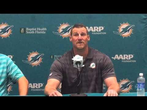 Miami Dolphins introduce interim head coach Dan Campbell