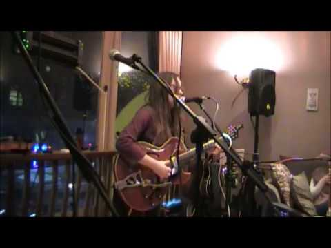 """Big Black Cadillac"" (Lightning Hopkins Cover) – Alicia Marie on Guitar/Vocals"