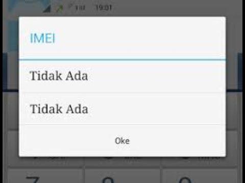 Cara mudah mengatasi Nomor IMEI yang hilang tanpa Root dan tutorial ini juga bisa kalian gunakan unt.