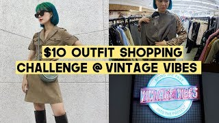 Gambar cover $10 Chic Outfit Shopping Challenge at Vintage Vibes Jakarta | Q2HAN
