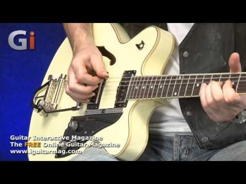 Duesenberg Fullerton CC Guitar Review - Issue 12 - Guitar Interactive Magazine