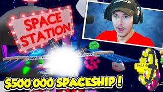 BUYING THE MOST EXPENSIVE SPACESHIP IN SPACESHIP SIMULATOR!! (Roblox)