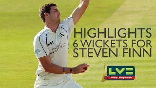 vuclip Highlights: Steven Finn takes 6 wickets against Sussex