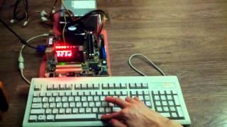 Old school: компьютерный стенд(Простейший компьютерный стенд на базе материнской платы ASUS P4BP-MX с чипсетом Intel 845GV (встроенная графика)...., 2014-01-20T09:55:52.000Z)