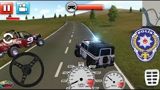 Araba Oyunları Polis Arabası Suçluları Yakalıyor || Police Car Smash 2017 Android Gameplay FHD