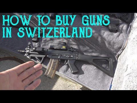 how to buy guns in switzerland