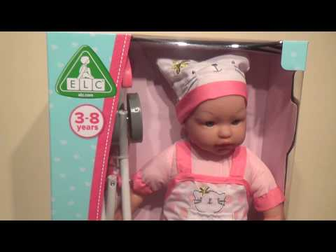 early-learning-centre-elc-toy-doll-dolly-stroller-set-christmas-present-fun-baby-fun-fun