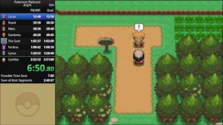 Pokemon Platinum Any% Speedrun in 2:49:54 [Current World Record]