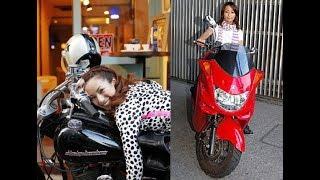 【愛車公開】バイクが好きな愛好家の女性芸能人・モデルたち~眞鍋かを...